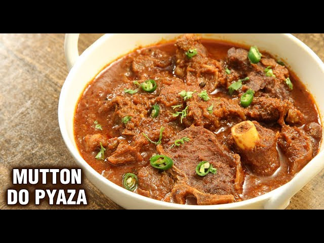 Mutton Do Pyaza | How To Make Ghost Do Pyaza | Mutton Curry Recipe By Chef Tarika