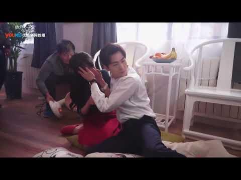 Engsub - Yang Shuang - Love O2O BTS - Kiss scene ep 20