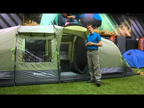 New Eurohike Camping Adventure Buckingham Elite Porch