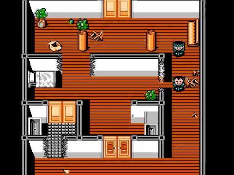 New Ghostbusters 2 Walkthrough NES HD 1080p