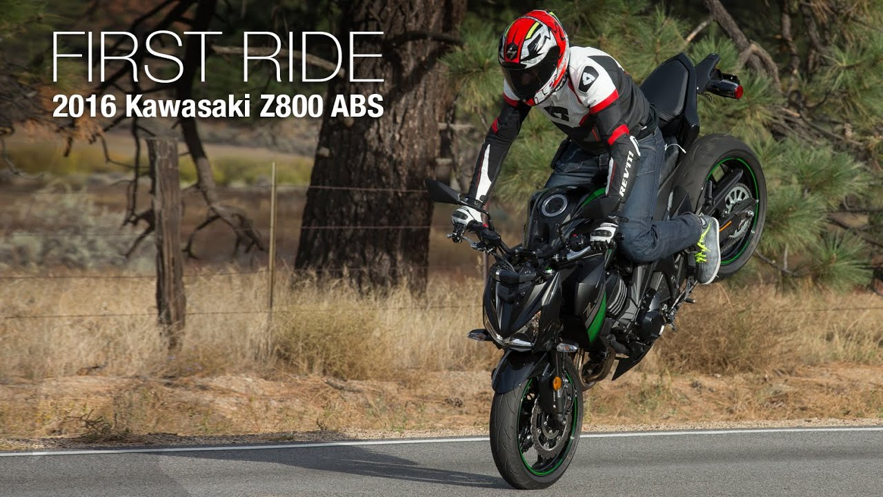 2016 kawasaki z800 abs first ride review - motousa - youtube