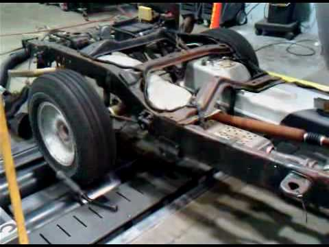 Bare Chassis Ford Explorer Smog - YouTube