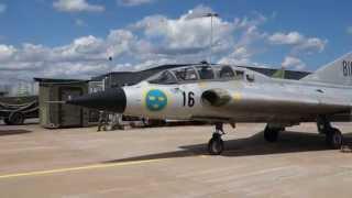 Saab SK35 Draken F17 flygdag 2014