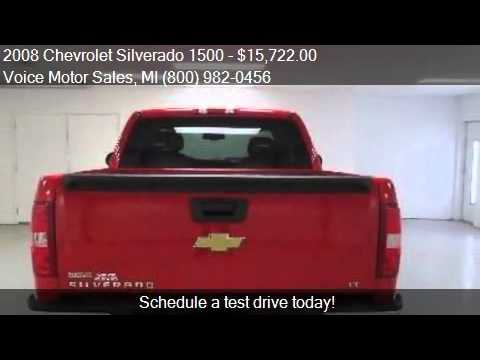 2008 chevrolet silverado 1500 1lt 4x4 extended cab for Voice motors kalkaska michigan