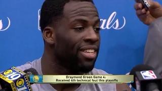 Draymond Green Interview - Game 5 | Cavaliers vs Warriors | June 11, 2017 | 2017 NBA Finals