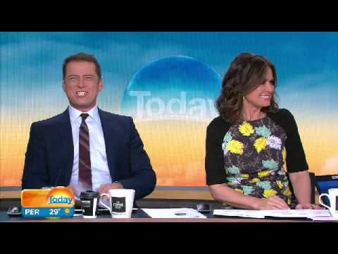 Sports presenter Yvonne fooled by Karl Stefanovic