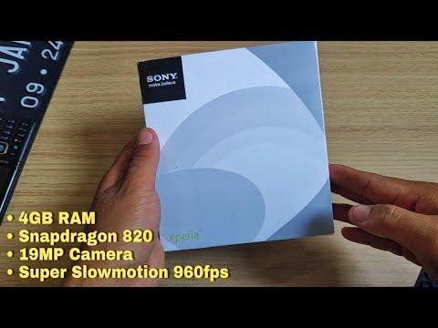 Rp 810.000 !!! Unboxing Sony XZs
