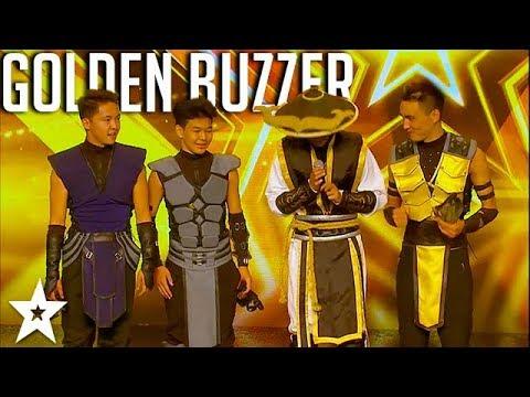 ADEM Dance Crew WINS Golden Buzzer On Asia's Got Talent 2017 | Got Talent Global
