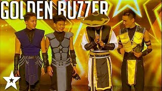 Скачать ADEM Dance Crew WINS Golden Buzzer On Asia S Got Talent 2017 Got Talent Global