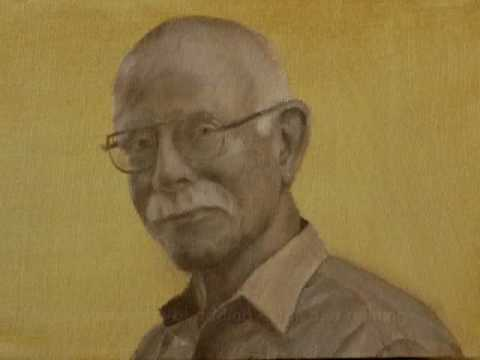 Oil painting process - miniature portrait of Robert Eakin