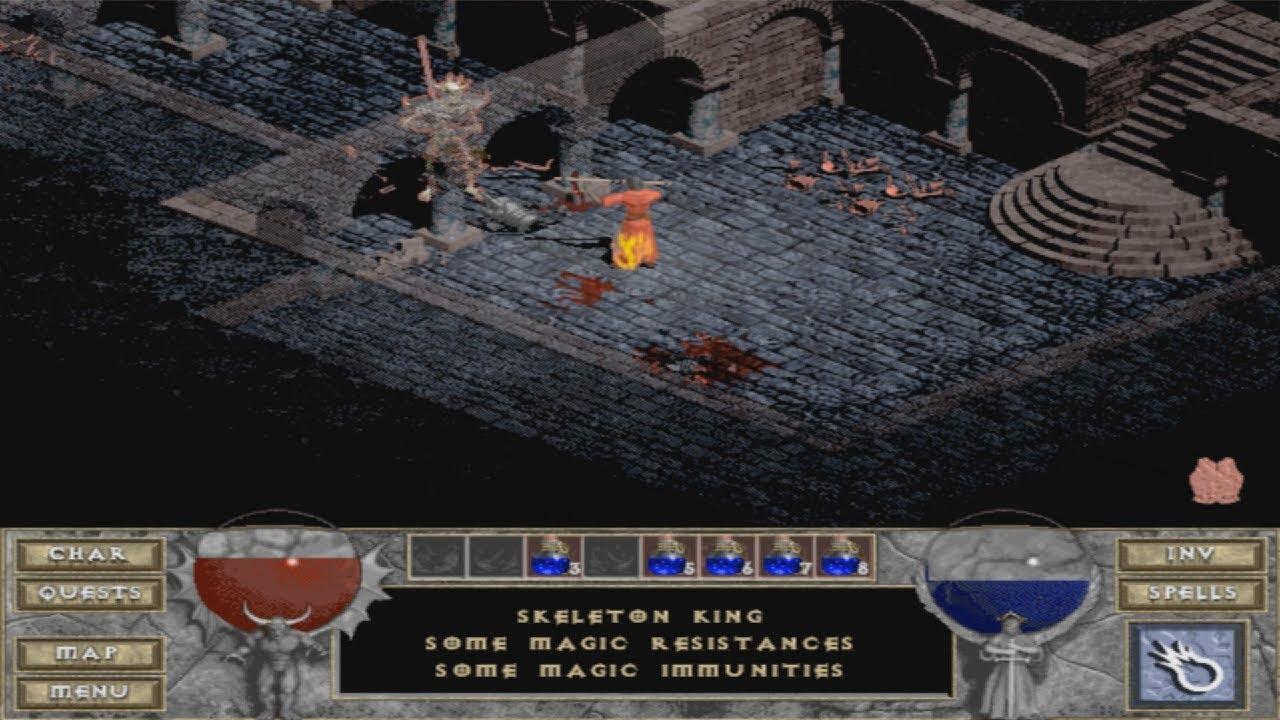 Diablo - The Curse of King Leoric (The Skeleton King)