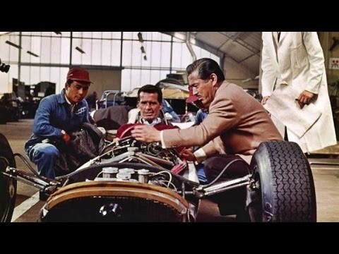 Grand Prix 1966 -  James Garner, Eva Marie Saint, Yves Monta