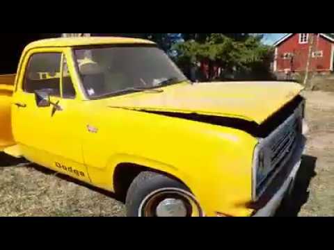Dodge D100 Stepside 1972 Youtube