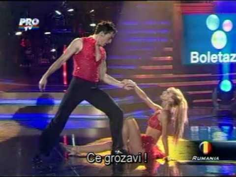 Andreea Balan & Petrisor - Samba (Campionatul din Mexic)
