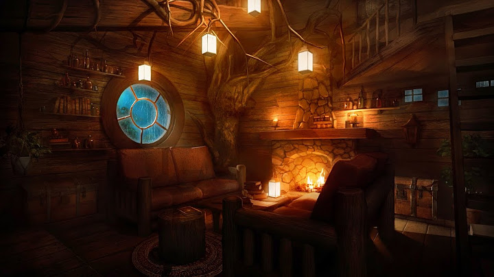 Permanent Link to Cozy Treehouse – Indoor Rain Sounds, Heavy Wind & Crackling Fireplace for Relaxation