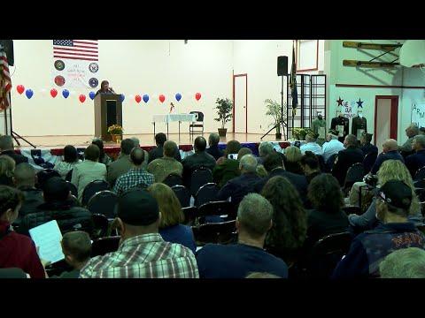 Molalla River Middle School Veteran Appreciation Event