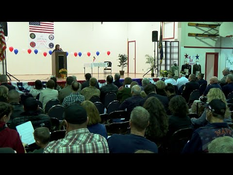 Molalla River Middle School Veteran Appreciation Event