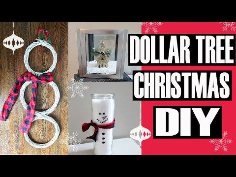 3 EASY DOLLAR TREE CHRISTMAS DIY PROJECTS   CHRISTMAS DECOR 2018