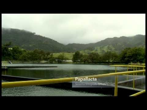 Agua potable de quito planta de paluguillo youtube for Agua potable quito
