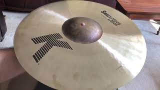 """Zildjian 18"""" K Sweet Crash Product Review from grooveKSQ"""