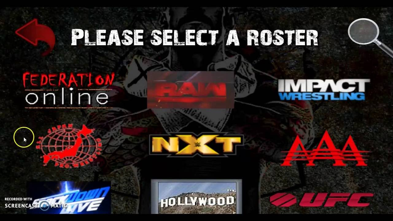 Wrestling revolution 2D roster personalizado | EndlessVideo