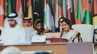 चुनावी ख़ुराक: सुषमा ने उठाया IOC में आतंकवाद का मुद्दा