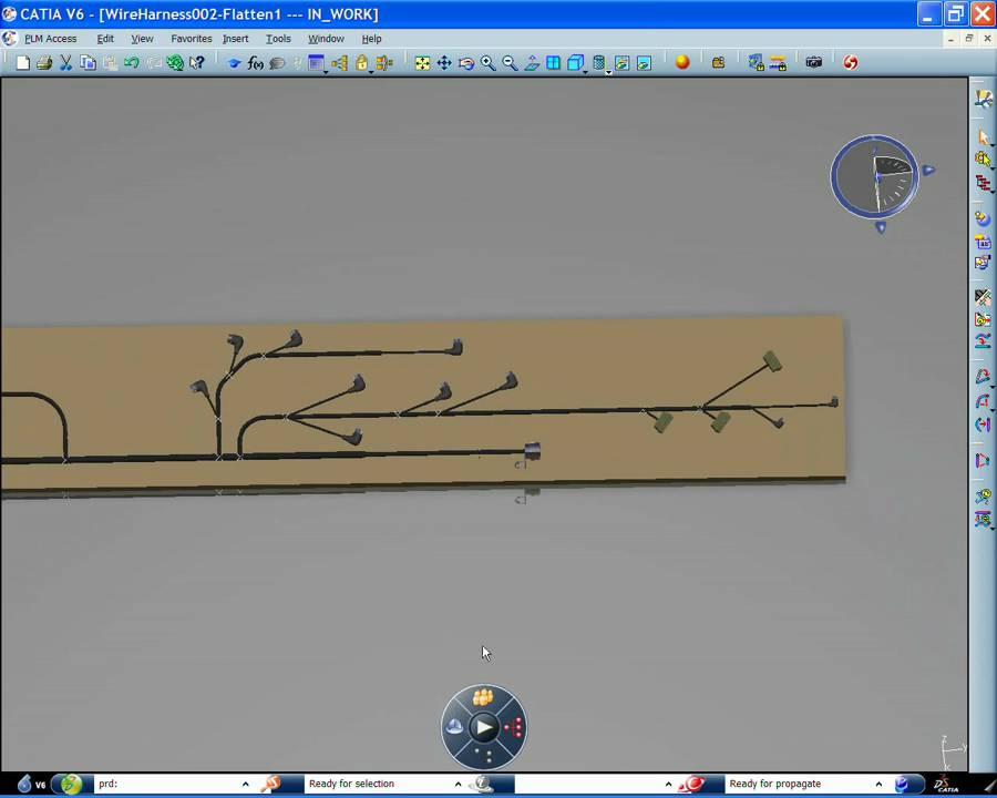 catia wire harness documentation & formboard