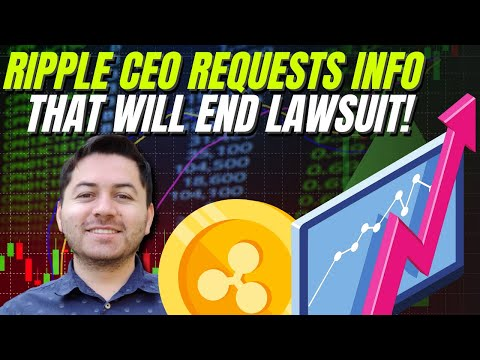 Ripple CEO Requests XRP Transaction Info! XRP Price Prediction, News & More!