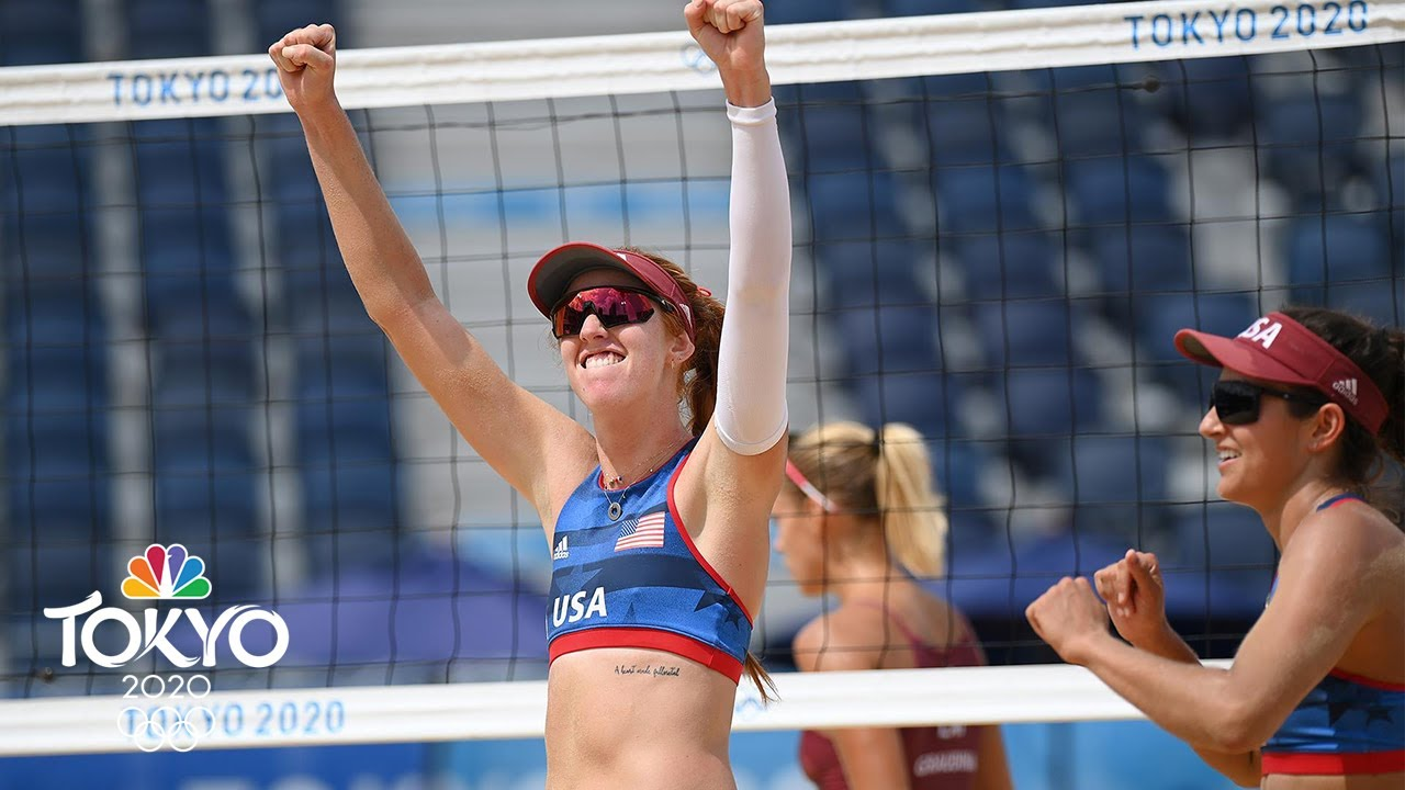 Olympic Beach Volleyball Day 9: Bad Day for Team USA