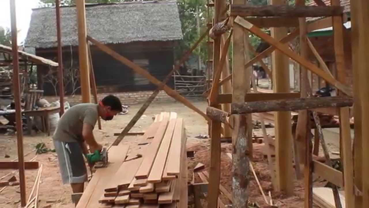 Rumah Kayu Indonesia  Video workshop 3 YouTube