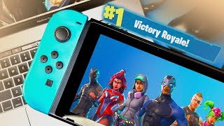 playing fortnite mobile