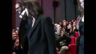 Istanbul kirmizisi gala 1.3.2017. Tuba Buyukustun