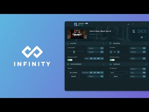 Infinity by WeMod: World's First All-In-One PC Game Modding and Trainer Tool