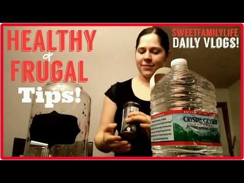 Money saving tricks that benefit your health! Grape juice & homemade bonebroth! - Daily Vlog # 143