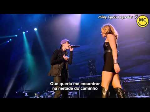 Justin Bieber - Overboard [Remix] [Live] Feat. Miley Cyrus [Legendado] ᴴᴰ