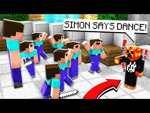 PRESTONPLAYZ VS NOOBS! Minecraft Simon Says Murder Mystery