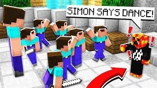 PRESTONPLAYZ VS NOOBS! Minecraft Simon Says Murder Mystery