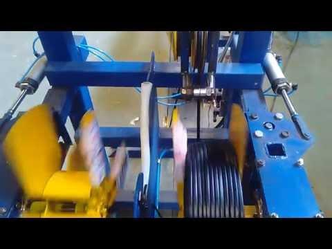 видео: Сдвоенный бухтовщик СБ2/400 производства НПЦ