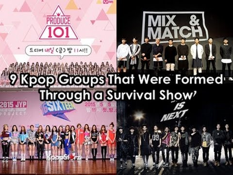 9 Kpop Groups That Were Formed Through a Survival Show