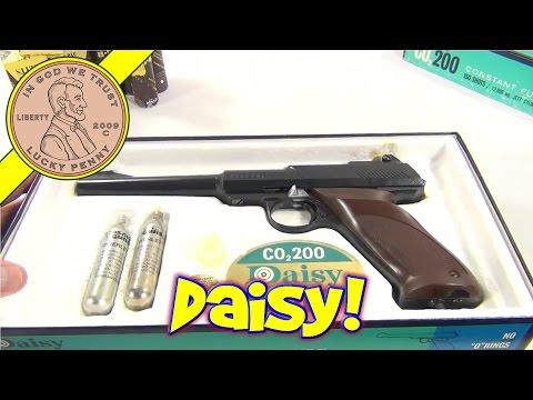 Daisy CO2 200 Semi-Automatic BB Gun - Taking Apart a Vintage Daisy BB Gun