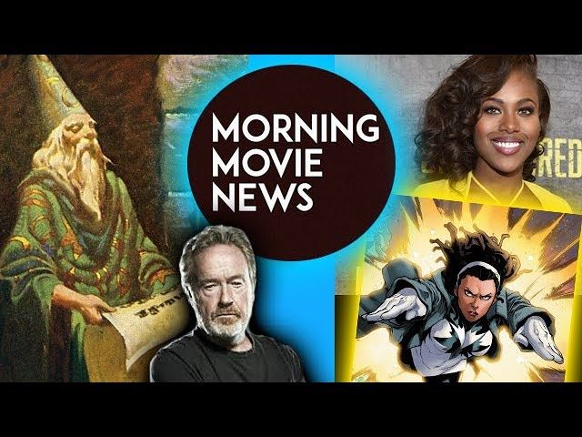 Disneys Merlin Saga With Ridley Scott Dewanda Wise Cast In Captain Marvel 2019