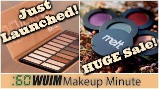 NEW Revealed MATTE Palette at Coastal Scents! + HUGE Sale at Melt Cosmetics | Makeup Minute