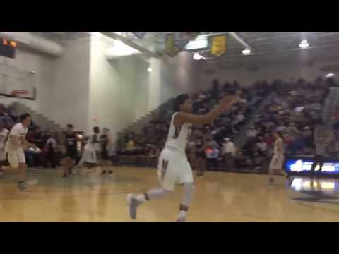 Ronald Harper hits a three and celebrates in style
