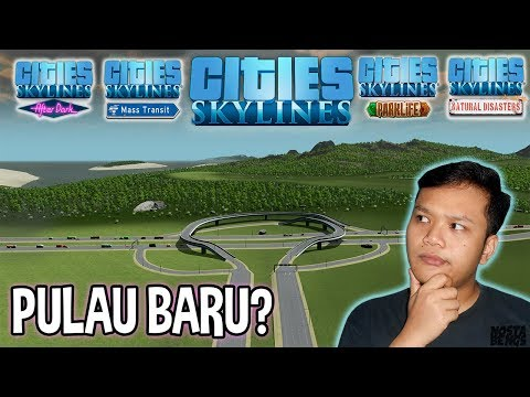 New Island, News and Notifications - Cities Skylines Indonesia
