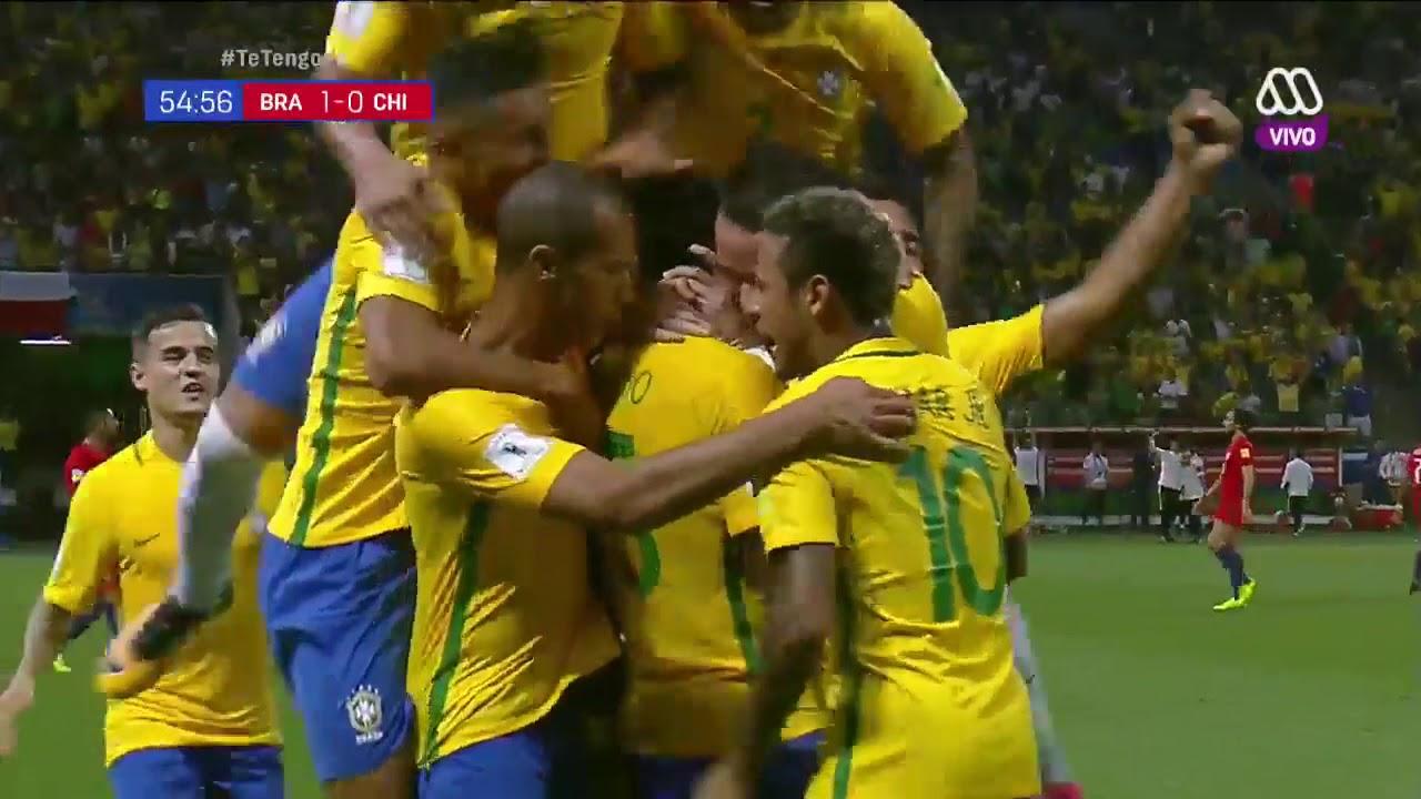 Brasilien Vs Chile