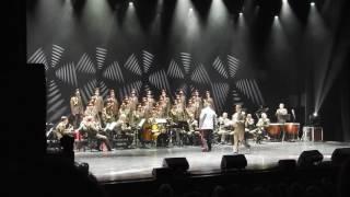 Red Army Choir ; MVD. Director and Conductor ; Gen. Viktor ELISEEV in Ashdod- Israel. Jan . 2017