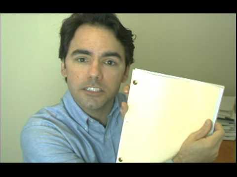Dan's 2-Minute Screenwriting School #1 - How Your Screenplay Should Look Industry Format Final Draft