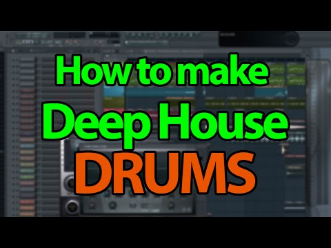 How to make Deep House/Future House Drums - FL Studio Tutorial
