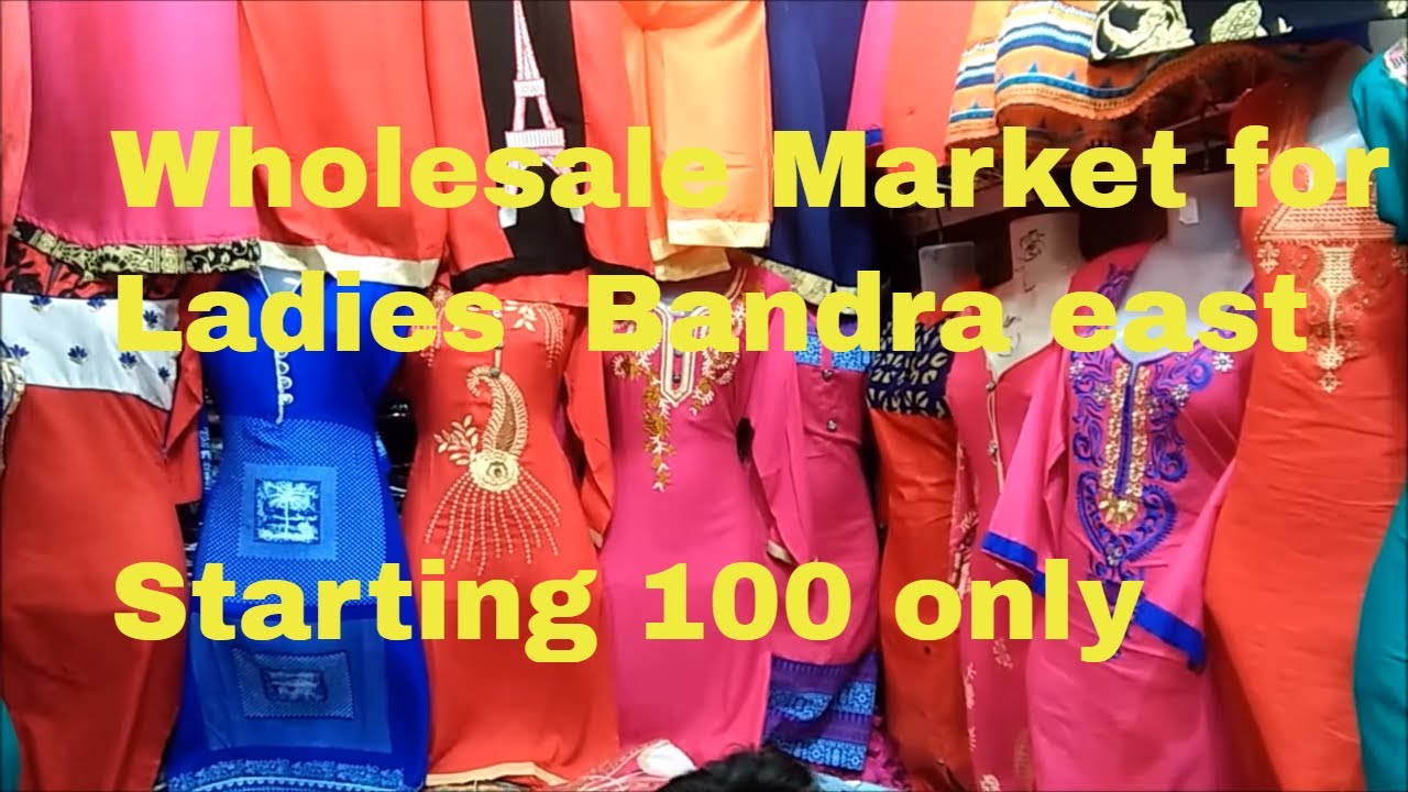 63777e8f78a57b BEST WHOLESALE MARKET FOR LADIES IN MUMBAI! KURTIS , ONE PIECES ! TOPS !  BANDRA ghas bazaar