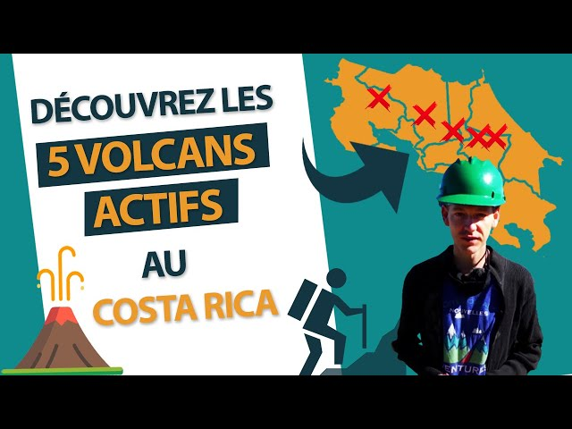 Costa Rica : Découvrez les 5 volcans actifs durant votre voyage